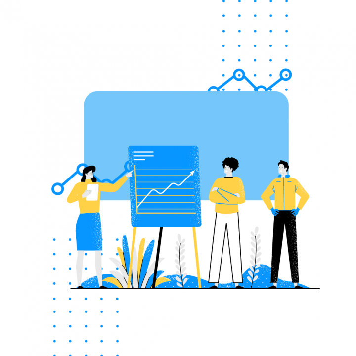 Copy of Blue and White Illustrative Technology Startup Sales Presentation